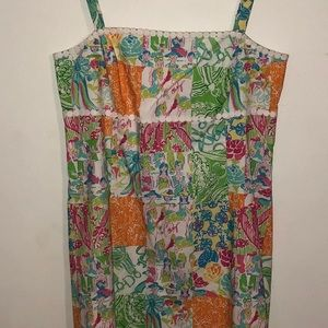 Vintage Lilly Pulitzer Sleeveless Dress